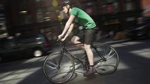 We don't allow dragsters on our streets, why should we allow the fixie? (Darren Calabrese/The Globe and Mail/Darren Calabrese/The Globe and Mail)