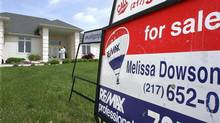 File photo of a home for sale in Springfield, Ill (Seth Perlman/AP)