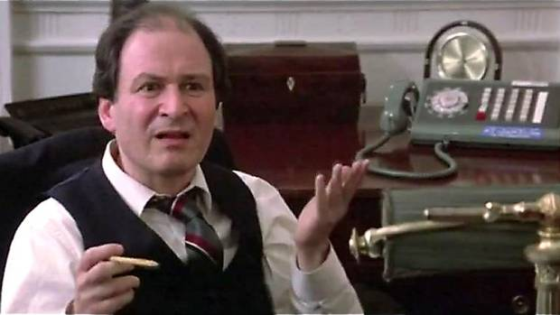 David Margulies as Mayor in Ghostbusters.