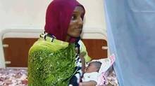 Meriam Ibrahim's death sentence for apostasy was overturned. (Associated Press)