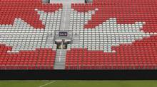 A look at the East grandstand of Toronto's BMO Field. The facility will play host to matches of the 2014 Women's U20 World Cup, The Canadian Soccer Association announced on Sunday. (file photo) (Peter Power/Peter Power/The Globe and Mail)