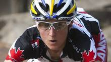 Canada's Catharine Pendrel won a World Cup mountain bike race in Italy on Saturday. FILE PHOTO: THE CANADIAN PRESS/Sean Kilpatrick (Sean Kilpatrick/CP)