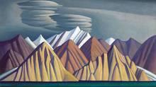 Bylot Island I by Canadian artist Lawren Harris.