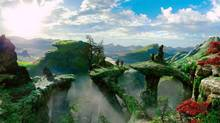 An image from Oz the Great and Powerful. The movie was one of the few bright spots for Cineplex in the latest quarter. (AP)