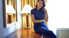 Marisa Tomei doing promotion for the film Inescapable during the Toronto International Film Festival on September 11, 2012. (JENNIFER ROBERTS for the globe and mail)