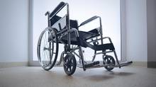 Empty wheelchair (stokkete/Getty Images/iStockphoto)