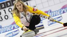 More than seven million Canadians tuned in to the Scotties Tournament of Hearts, won by Manitoba skip Jennifer Jones's rink, last week in Moose Jaw, Sask. (TODD KOROL/REUTERS)