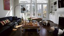 Maryam Mansouri's family room (Deborah Baic / The Globe and Mail/Deborah Baic / The Globe and Mail)
