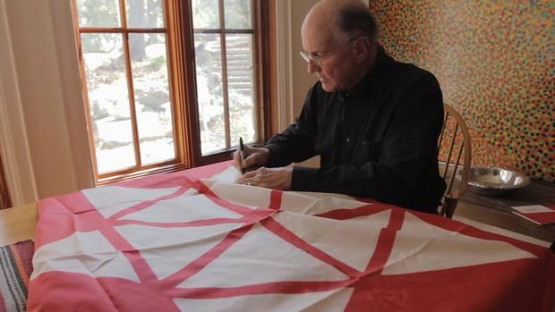 Stuart Ash, designer of the Centennial Symbol of Canada