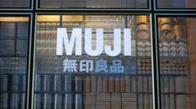 MUJI has distinguished itself for being a company focused on simple, unbranded goods and a consistent, minimal design aesthetic. (Krisztian Bocsi/Bloomberg)