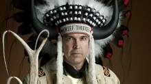 In 1997 John Thunder was selected as the sixth hereditary Chief in the history of Buffalo Point First Nation. credit: http://buffalopoint-firstnation.ca