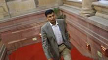 India named Raghuram Rajan, a former IMF chief economist who in 2005 predicted the global financial crisis, to lead the Reserve Bank of India. (ADNAN ABIDI/REUTERS)