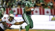 Saskatchewan Roughriders quarterback Darian Durant (REUTERS)