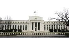 The U.S. Federal Reserve Building in Washington. (STELIOS VARIAS/REUTERS)