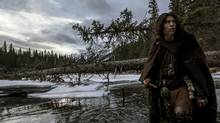 The Revenant's quest for authenticity, including with its indigenous actors such as Forrest Goodluck as Hawk, is overshadowed by simplification. (<137>Kimberley French<137><137><252><137>)