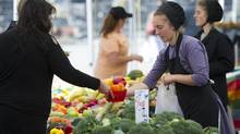 There's no argument that a plant-based diet is a healthy one. Eating less meat is linked with protection from heart disease, Type 2 diabetes and colorectal cancer. Vegetarian diets can also help lower elevated blood cholesterol, blood pressure and blood sugar levels. (Kevin Van Paassen/The Globe and Mail)