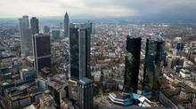 Frankfurt has launched a major effort to bolster its position as a financial centre in the wake of last year's Brexit vote. The city is already home to the European Central Bank and nearly 200 foreign lenders. (Krisztian Bocsi/Bloomberg)