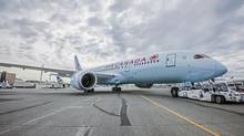 Air Canada's traffic grew 11 per cent, boosting its load factor to a record 85.7 per cent. (Timothy McGuire/Boeing)