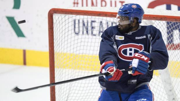Canadiens trade P.K. Subban to Predators for Shea Weber