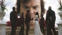 Jack Black in a scene from Gulliver's Travels (Photo credit: hy*draulx)