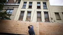 The former site of the B.C. Collateral and Loan will be converted into a housing project with 19 self-contained units. (Rafal Gerszak for The Globe and Mail)