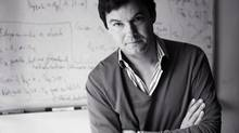 French economist Thomas Piketty worries that rising inequality will damage society. (Emmanuelle Marchadour/AP)