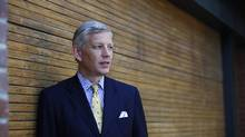 Dominic Barton, the managing director of McKinsey, was Justin Trudeau's top choice for the job. Nabbing Mr. Barton, an executive with global connections and expertise on Asia, would have been a coup for Mr. Trudeau. (Della Rollins For The Globe and Mail)