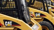 European stocks fell on Monday after multinational Caterpillar Inc. failed to meet profit forecasts. (JOSHUA LOTT/REUTERS)