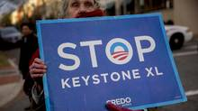 Trump's win could mean a revisiting of the Keystone XL pipeline project, which was turned down by the Obama administration. (Andrew Harrer/Bloomberg)