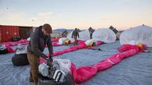 The Project Loon team monitors their balloons 24 hours a day, from launch to recovery, and shares position information and projections with local aviation authorities. (GOOGLE)