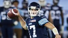 Former Toronto Argonauts quarterback Zach Collaros (Nathan Denette/The Canadian Press)
