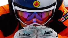 Canada's Eric Guay prepares for a training run (Alessandro Trovati/The Associated Press)