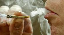 About one-fifth of Canadians interviewed for a recent Forum Research phone poll said that they had smoked pot last year. (KEVIN FRAYER/THE CANADIAN PRESS)