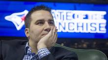 Former Blue Jays general manager Alex Anthopoulos could yet become Toronto's Babe Ruth figure – the move the Jays screwed up so badly that they'll be karmically haunted by it for years. (Kevin Van Paassen For The Globe and Mail)