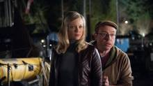 Amy Smart and Brent Butt star in No Clue. (Diyah Pera/Alliance Atlantis Films)