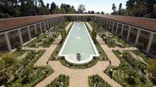 The Getty Villa in Malibu, Calif. is a free gallery that house a collection of 44,000 antiquities. (REUTERS)