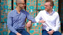 Jonathan Ferrari and Neil Cuggy founded Goodfood in December 2014. (Goodfood)