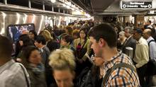 A crowded subway in Toronto: The more people, the better, urban planners argue. (Kevin Van Paassen/The Globe and Mail)