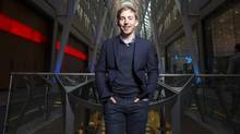 Michael Katchen, Wealthsimple's chief executive officer, is hoping to grow the company's client base by splashing his brand to half of the country during Super Bowl L. (Mark Blinch for The Globe and Mail)