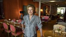 Mary Aitken, owner of Verity, a private women's club in downtown Toronto, is photographed in the club's member's lounge on July 6 2016. (Fred Lum/The Globe and Mail)