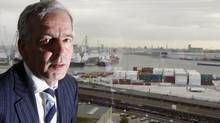 Logistics and maritime services company Ahlers' Chief Executive Officer Christian Leysen. (FRANCOIS LENOIR)