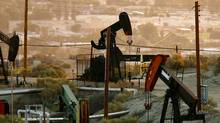 Oil rigs in Taft, Calfornia. (Getty Images)