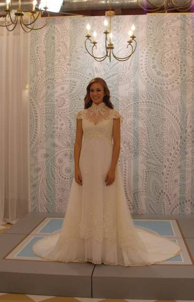 REALITY Something Borrowed, Something New (TLC, 7 p.m.) Wedding season now runs 12 months a year, it seems. In the vein of Say Yes to the Dress (and at least a half-dozen other wedding-themed TLC programs), this new show is all about bridal experts helping frantic brides-to-be who just can't seem to find the perfect dress for their special day. In this case, the experts are stylist Sam Saboura and designer Kelly Nishimoto, who collectively bring a world of fashion savvy and experience to each new client. In tonight's show, the pair bend over backwards to accommodate bride-to-be Maricela, who demands a wedding dress that will accentuate her ample curves and not offend her straitlaced Latina family.