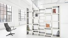 The Rek Bookcase: 'I think books are increasingly becoming objects that represent one's identity, rather than just functional carriers of information,' says designer Reinier de Jong. (PETER VAN DIJK)