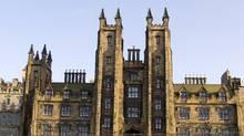 The University of Edinburgh. (iStockphotos)