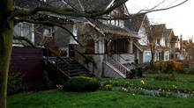 Houses in Vancouver's Kitsilano neighborhood seen here March 24, 2007. Rafal Gerszak for the Globe and Mail (Rafal Gerszak/Globe and Mail)