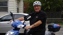 Kevin McGreal, a retired Toronto police officer, rides one of the 23 million e-bikes sold last year.