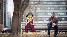Chip Zdarsky is seen here at a park in his home city of Toronto, Ontario Wednesday Nov. 26, 2014. (Tim Fraser for The Globe and Mail)