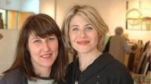 Shira Wood and Lisa Diamond, owners of Art Interiors.