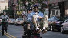 Michael Caine and Morgan Freeman in Going in Style. (Atsushi Nishijima/Warner Bros. Entertainment)